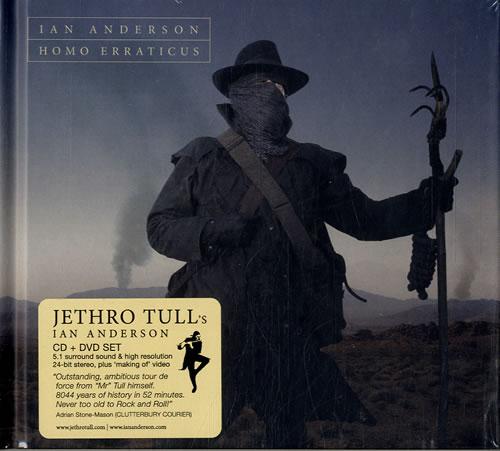 Ian Anderson Homo Erraticus - Deluxe Edition 2-disc CD/DVD set UK IAD2DHO604916