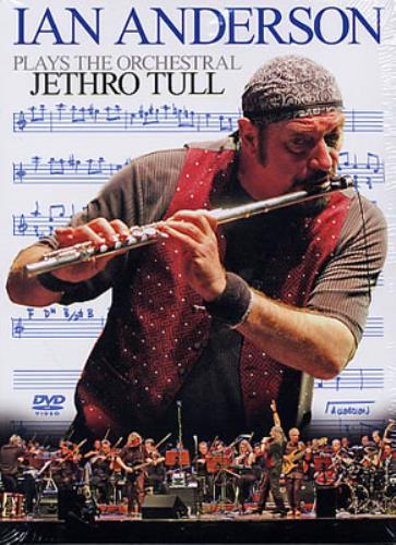 Ian Anderson Plays The Orchestral Jethro Tull DVD German IADDDPL330214