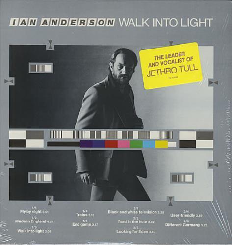 Ian Anderson Walk Into Light vinyl LP album (LP record) US IADLPWA131541
