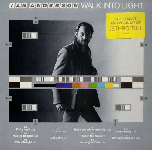Ian Anderson Walk Into Light vinyl LP album (LP record) US IADLPWA181049