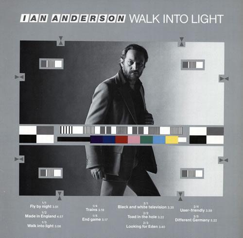 Ian Anderson Walk Into Light vinyl LP album (LP record) German IADLPWA569613
