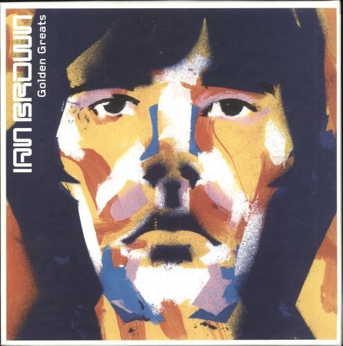 Ian Brown Golden Greats - 180gm Gold Vinyl + Numbered Sleeve 2-LP vinyl record set (Double Album) UK IBR2LGO657039
