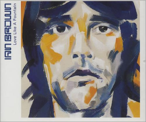 Ian Brown Love Like A Fountain 2-CD single set (Double CD single) UK IBR2SLO146939