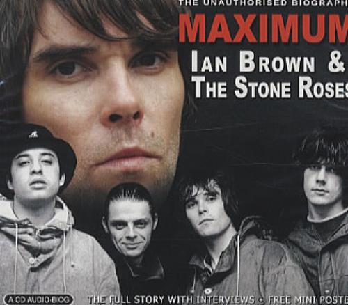 Ian Brown Maximum Ian Brown & The Stone Roses CD album (CDLP) UK IBRCDMA339222
