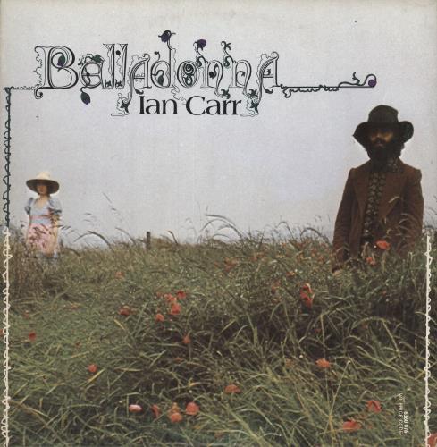 Ian Carr Belladonna - 1st vinyl LP album (LP record) UK ICRLPBE61028