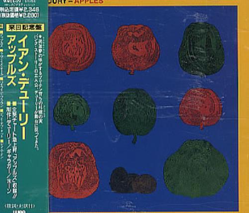 Ian Dury Apples CD album (CDLP) Japanese INDCDAP292375