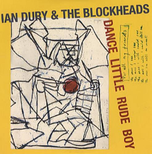 """Ian Dury Dance Litttle Rude Boy CD single (CD5 / 5"""") UK INDC5DA211889"""