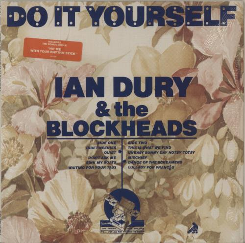 "Ian Dury Do It Yourself + 7"" single vinyl LP album (LP record) US INDLPDO686504"