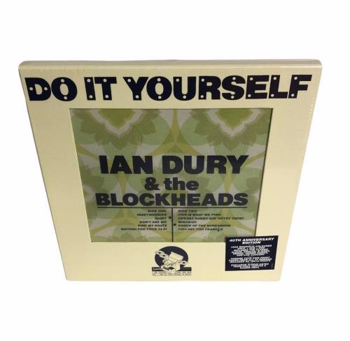 Ian Dury Do It Yourself - 40th Annivesary Edition Vinyl Box Set UK INDVXDO736288