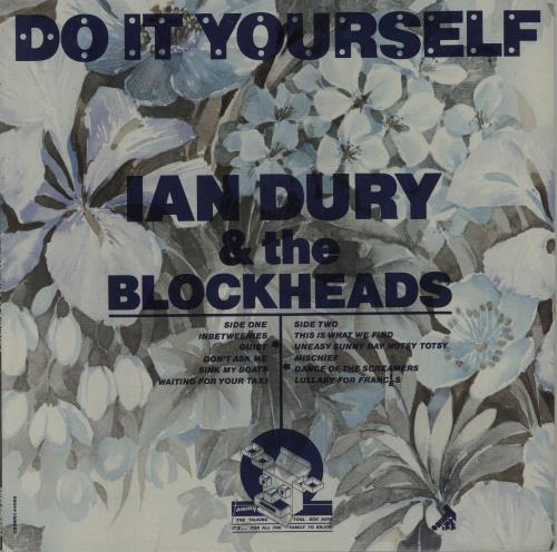Ian Dury Do It Yourself - L44088 Sleeve vinyl LP album (LP record) UK INDLPDO289669