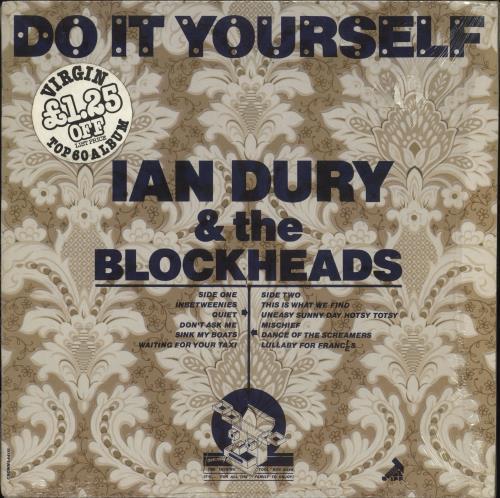 Ian Dury Do It Yourself - L44115 + Shrink vinyl LP album (LP record) UK INDLPDO748887