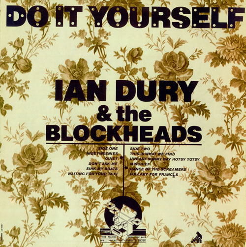 Ian Dury Do It Yourself - L44167 + Insert vinyl LP album (LP record) Portugese INDLPDO491889