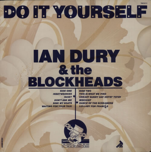 Ian Dury Do It Yourself - P87813 Sleeve vinyl LP album (LP record) French INDLPDO590260