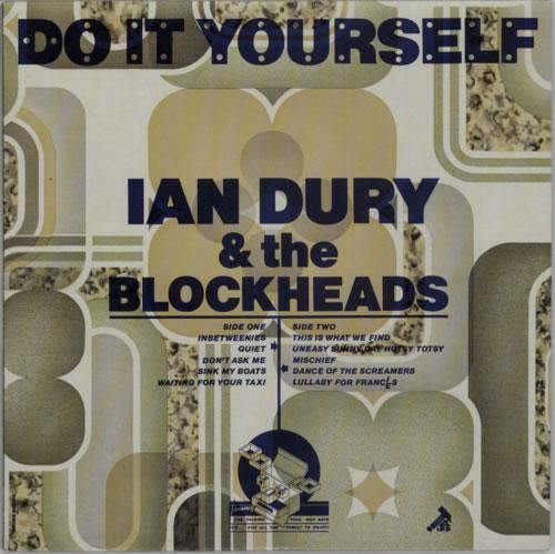 Ian Dury Do It Yourself - P87995 vinyl LP album (LP record) UK INDLPDO612075