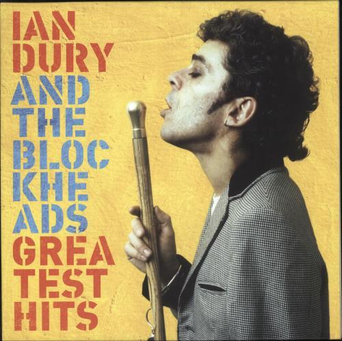 Ian Dury Greatest Hits - 180gm Yellow Vinyl vinyl LP album (LP record) UK INDLPGR741464