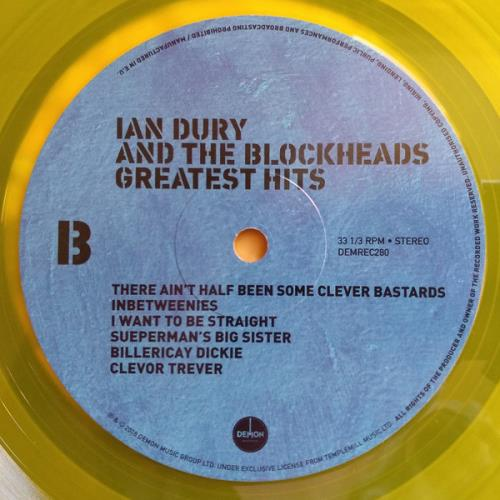 Ian Dury Greatest Hits - Yellow Vinyl - Sealed vinyl LP album (LP record) UK INDLPGR715997