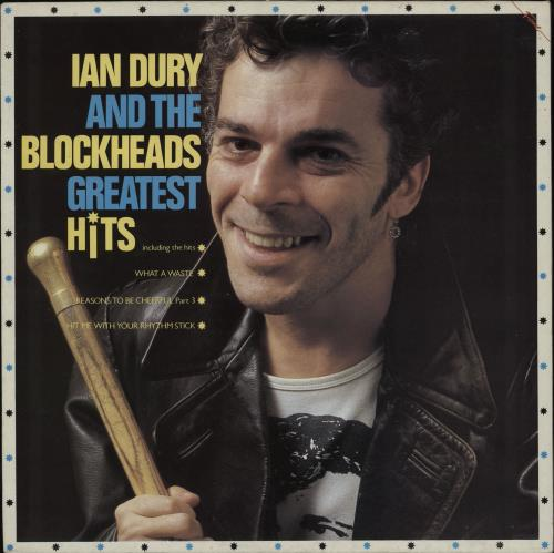 Ian Dury Greatest Hits vinyl LP album (LP record) UK INDLPGR239308
