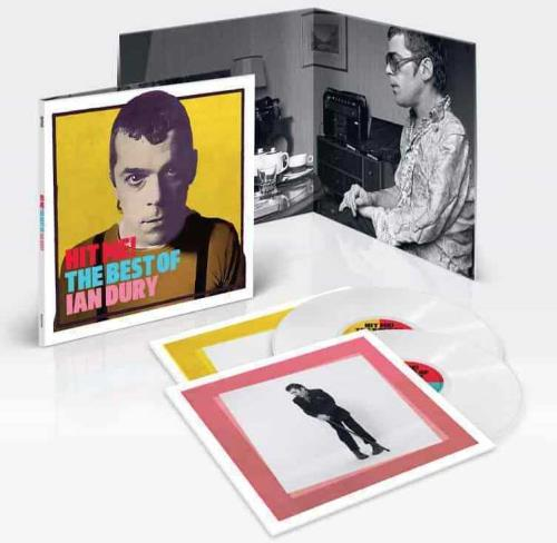 Ian Dury Hit Me! The Best Of Ian Dury - White Vinyl - Sealed 2-LP vinyl record set (Double Album) UK IND2LHI754293