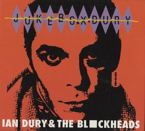 Ian Dury Jukebox Dury CD album (CDLP) French INDCDJU445499
