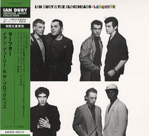 Ian Dury Laughter CD album (CDLP) Japanese INDCDLA200893