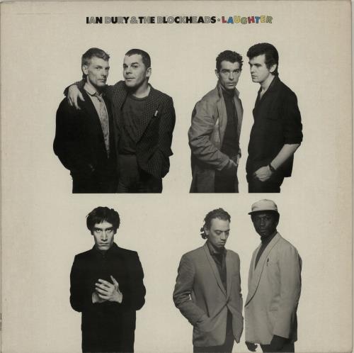 Ian Dury Laughter vinyl LP album (LP record) UK INDLPLA321851