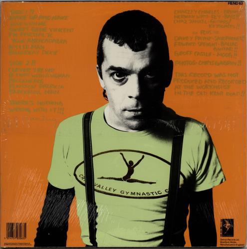 Ian Dury New Boots And Panties !! - Opened shrinkwrap vinyl LP album (LP record) UK INDLPNE765023