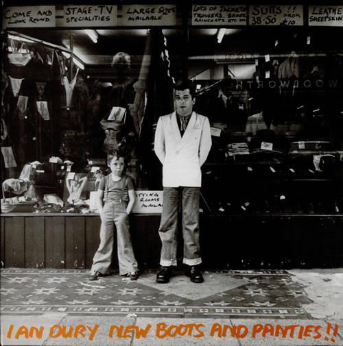 Ian Dury New Boots And Panties !! vinyl LP album (LP record) UK INDLPNE239306