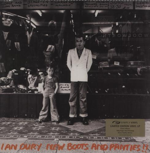 Ian Dury New Boots And Panties - 180gm - sealed vinyl LP album (LP record) UK INDLPNE760115