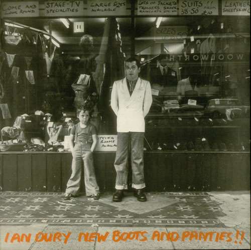 Ian Dury New Boots And Panties - EX vinyl LP album (LP record) UK INDLPNE549746