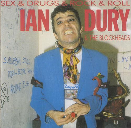 Ian Dury Sex & Drugs & Rock & Roll CD album (CDLP) UK INDCDSE561771