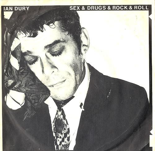 "Ian Dury Sex & Drugs & Rock & Roll 7"" vinyl single (7 inch record) German IND07SE608589"
