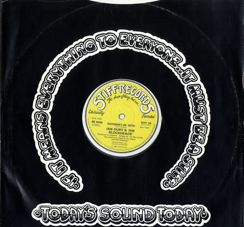 "Ian Dury Sueperman's Big Sister 12"" vinyl single (12 inch record / Maxi-single) UK IND12SU550781"