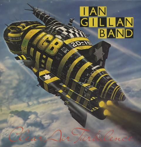 Ian Gillan Clear Air Turbulence - Gatefold vinyl LP album (LP record) UK GILLPCL91909