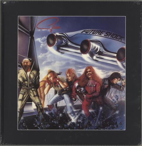 Ian Gillan Future Shock - 180gram Heavyweight Vinyl - Sealed 2-LP vinyl record set (Double Album) UK GIL2LFU704257