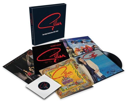"Ian Gillan Gillan: The Vinyl Collection 1979-1982 + Bonus 7"" - Sealed Vinyl Box Set UK GILVXGI679073"