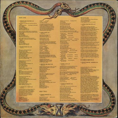 Ian Gillan Magic + die-cut sleeve picture disc LP (vinyl picture disc album) UK GILPDMA546794