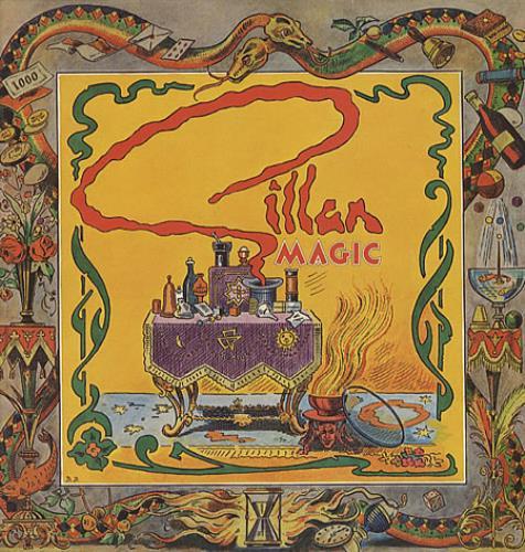 Ian Gillan Magic vinyl LP album (LP record) UK GILLPMA329315