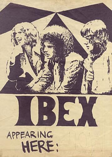 Ibex Concert Poster poster UK BEXPOCO218737