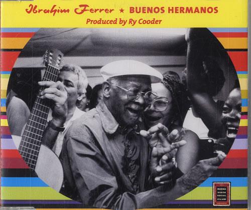 "Ibrahim Ferrer Buenos Hermanos CD single (CD5 / 5"") Dutch IE1C5BU579821"