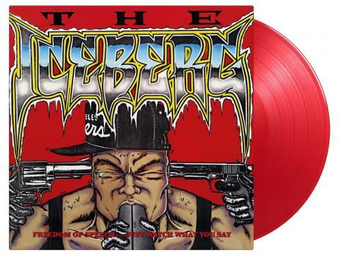 Ice T The Iceberg/Freedom Of Speech... Just Watch What You Say - Red Vinyl vinyl LP album (LP record) UK ICTLPTH763467