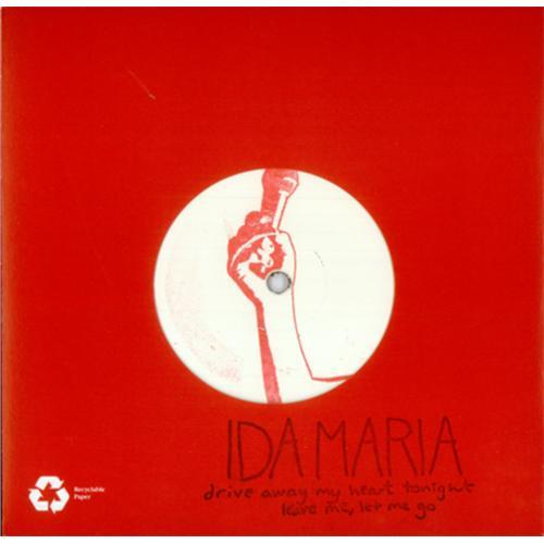 "Ida Maria Drive Away My Heart 7"" vinyl single (7 inch record) UK ID607DR421986"