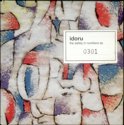 "Idoru The Safety In Numbers EP CD single (CD5 / 5"") UK IA0C5TH272880"