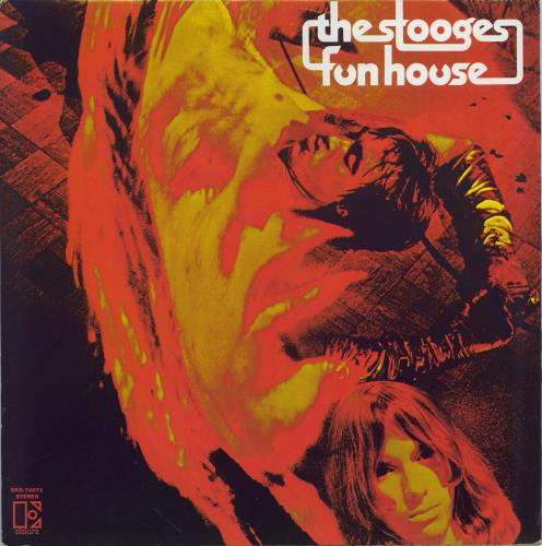 Iggy & The Stooges Fun House - black & red label vinyl LP album (LP record) Canadian TSGLPFU772321
