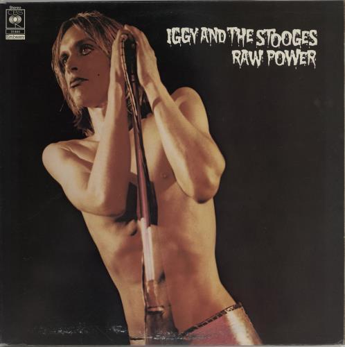 Iggy & The Stooges Raw Power - VG vinyl LP album (LP record) UK TSGLPRA683730
