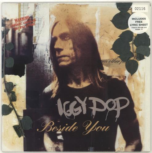 "Iggy Pop Beside You 10"" vinyl single (10"" record) UK IGG10BE88332"