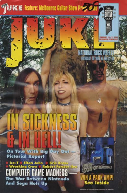 Iggy Pop Juke - February 1993 magazine UK IGGMAJU402341