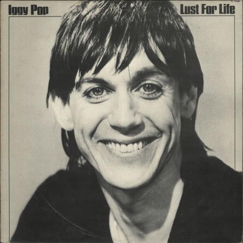 Iggy Pop Lust For Life - EX vinyl LP album (LP record) UK IGGLPLU705406