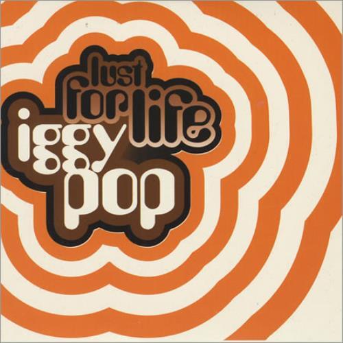 "Iggy Pop Lust For Life CD single (CD5 / 5"") UK IGGC5LU74284"
