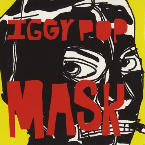 "Iggy Pop Mask CD single (CD5 / 5"") UK IGGC5MA193222"