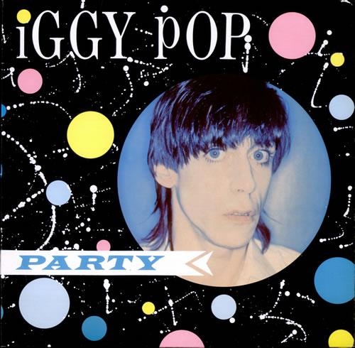 Iggy Pop Party vinyl LP album (LP record) German IGGLPPA526670